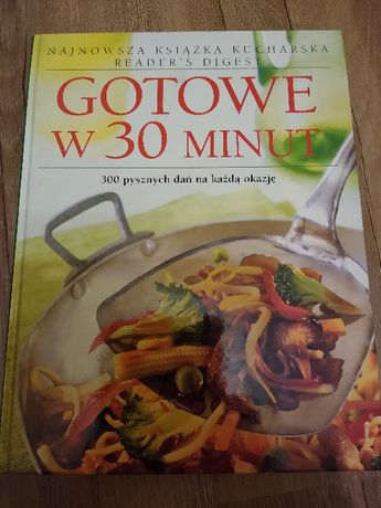 Książka kucharska: Gotowe w 30 minut