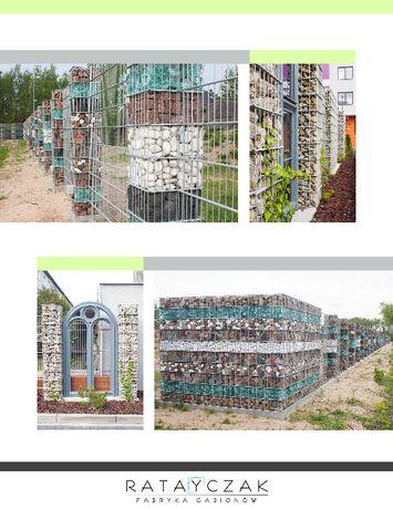Kosz gabionowy ogrodzenie gabionowe gabion gabiony gambiony tanio