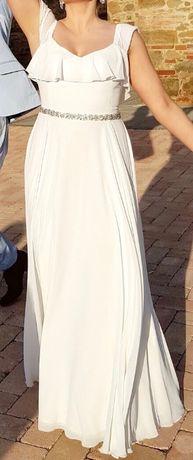 Suknia ślubna r.38, ślub w plenerze, ślub cywilny
