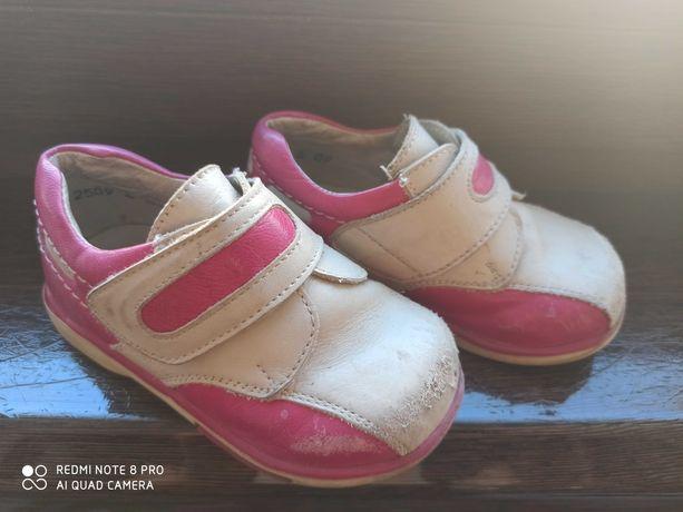 Детские полностью кожаные ортопедические ботинки 21 р