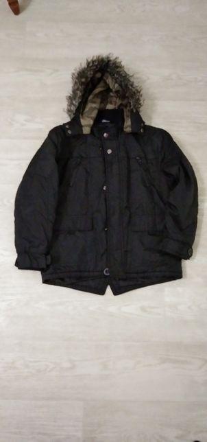 Куртка парка демисезонная, на 6-8 лет
