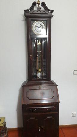 Relógio Coluna com pesos e base secretária