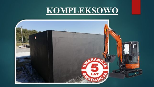 Szamba/Szambo betonowe Zbiorniki/Zbiornik betonowy Opatów Lipnik Sobów