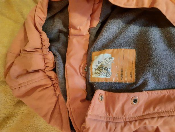 Куртка красивая для девочки 122 см