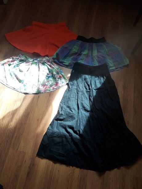 Spódnice spódnica S M mini maxi na lato