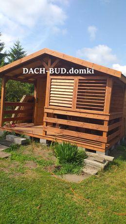 Domki domek drewniany letniskowe SINNESRO 24mkw