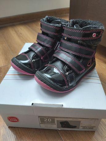 Kozaki buty zimowe dla dziewczynki coolclub 20