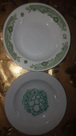 Тарелки суповые диаметром 20 см.