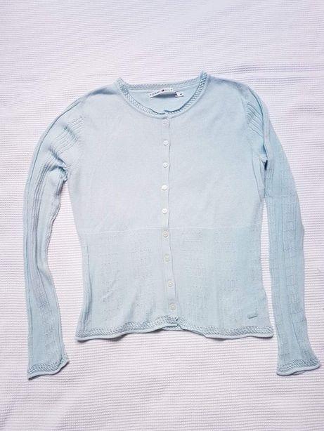 Tommy Hilfiger damski sweterek zapinany M