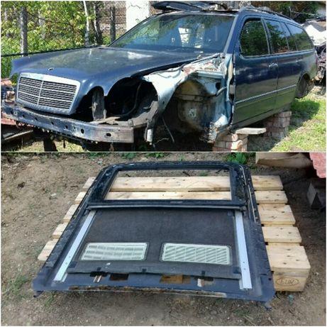 мерседес w 210 редуктор полуось коробка суппорт рулевая рейка стекло
