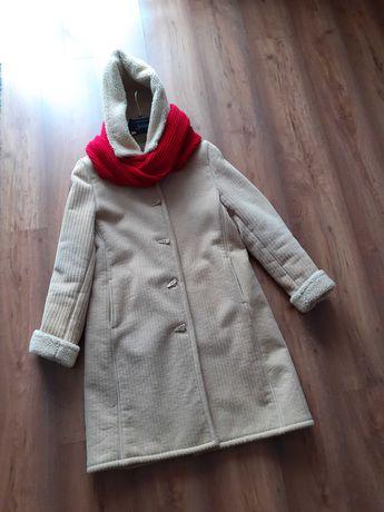 Kożuch 40 L płaszcz zimowy