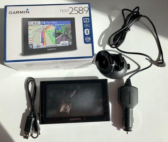 Навигатор GPS Garmin nuvi 2589