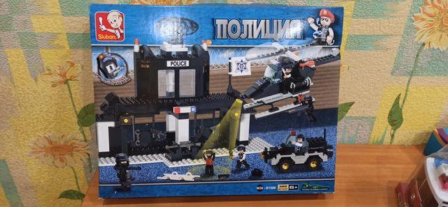 Конструктор Лего полиция