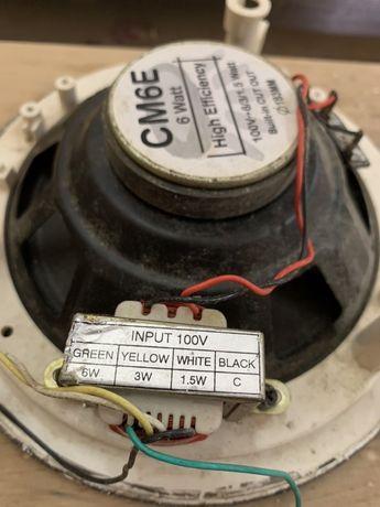 Динамик акустический  Apart CM6E 6 Watt диаметр 183 мм.
