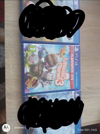 Gry ps 4. Little Big Planet 3 nowa