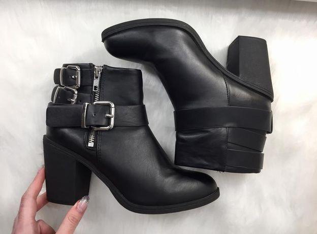 Продам ботильоны ботинки на удобном каблуке h&m