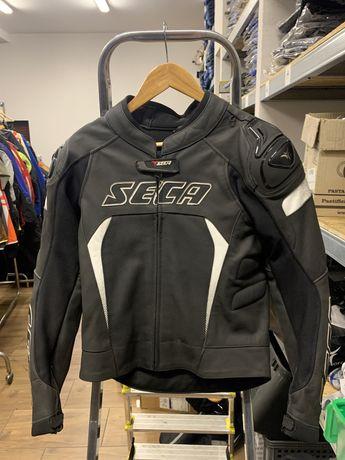 Nowa kurtka motocyklowa skorzana SECA SRS rozmiar 48 garb, sportowa!