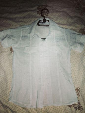 Рубашки белые школьные 6-7 лет