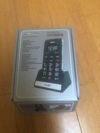 Telefon dla seniora i nie tylko MM705BB nowy w pudełku