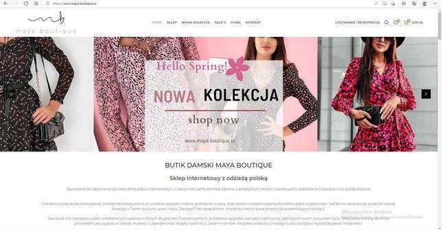 Sklep internetowy maya-boutique.pl butik z odzieżą damską moda damska