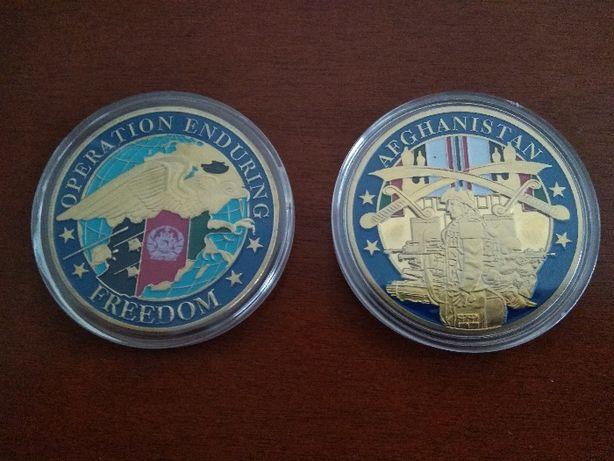 Weteran Afganistan, medal, coin , Operacja Enduring Freedom veteran
