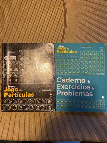 Novo Jogo de Partículas - Química 10º ano - Manual + CA