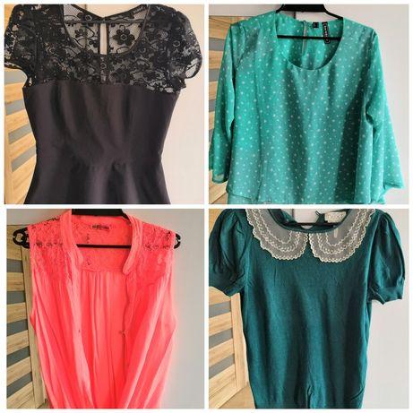 Mega paka ubrań bluzka oryginalne H&M Zalando S/M 40 sztuk