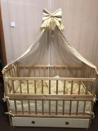 Дитяче ліжко/матрац/постільна білизна, спальне місце для дитини