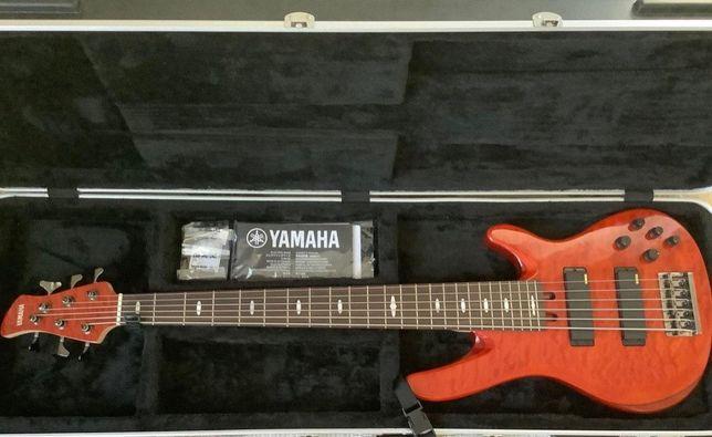 Yamaha Trb1006j CMB Electric Bass Guitar 6-string Camel Brown