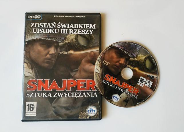 Gra komputerowa Snajper - Sztuka zwyciężania.Więcej w opisie!