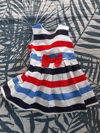 Sukieneczka na 0-3msc idealna na lato