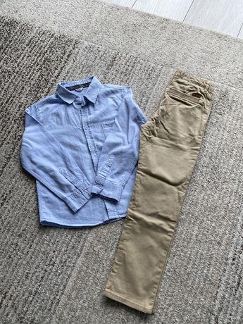 Zestaw koszula i spodnie 122