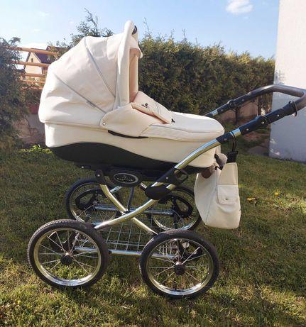 Unikatowy wózek dziecięcy Bebetto Fabio 3w1