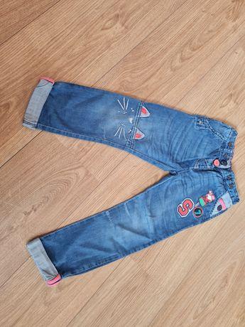 Next jeansy 110, 4-5 lat, stan idealny