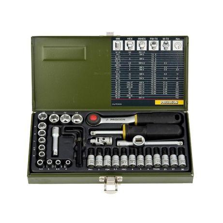 PROXXON 23080 zestaw kluczy 36 elem. klucz klucze NOWE