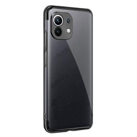 Capa Slim Transparente para Xiaomi Poco F3, Mi 11X Pro, Mi 11i, Mi 11, Mi 11 Pro,Mi 11 Lite, Mi 11 Ultra