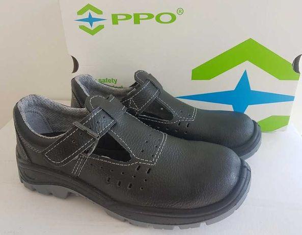 Obuwie sandały buy BHP robocze PPO ze skóry rozmiar 42 nowe