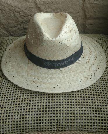 Эксклюзивная шляпа федoра toyota. соломка.италия. р one size