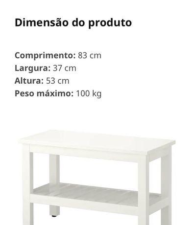Banco comprido Hemnes IKEA