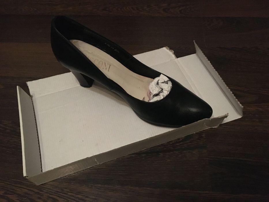 Туфли продам чёрные Италия Мелитополь - изображение 1