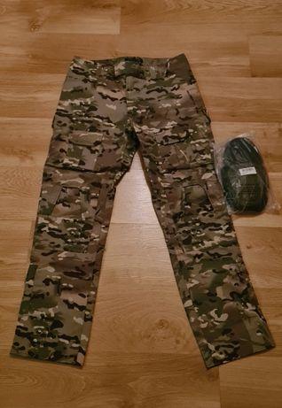 Spodnie Multicam + ochraniacze