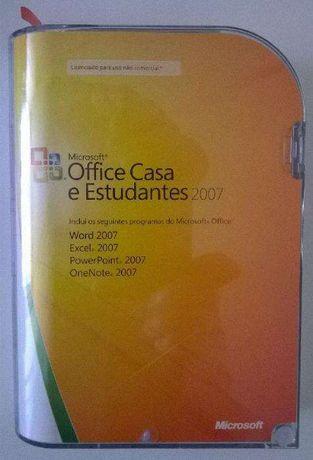 Microsoft Office 2007 PT-PT Casa e Estudantes
