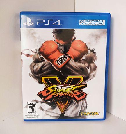 Gra Street Fighter V PS4 PS5 PL Playstation 4 5 STAN BDB (Tekken, UFC)