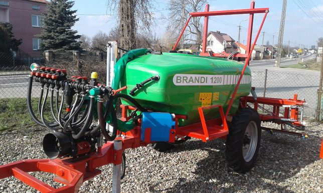 Opryskiwacz BRANDI 1200l-15m-RSM Zawór Stałociśnieniowy Pompa 140l