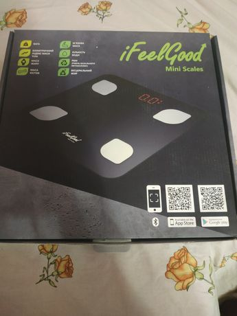 Продам вагу  iFeelGood. Mini Scales.