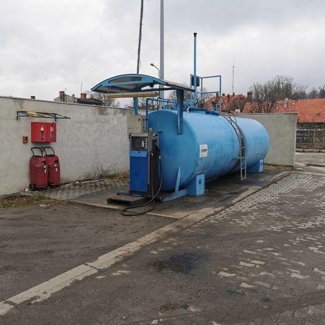 Na sprzedaż kontenerowa stacja paliw- Syców