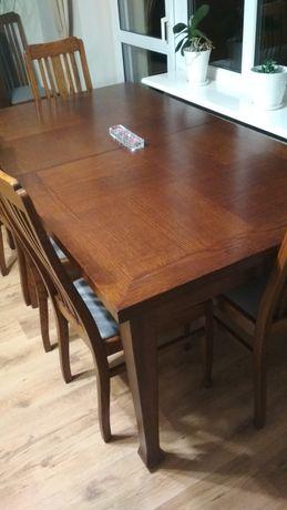 Stół rozkladany dąb 180x100cm stan bardzo dobry