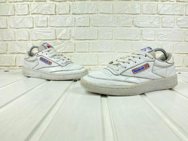 Кроссовки Reebok Club Original 39 белые кожаные