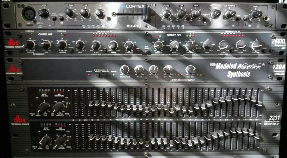 processamento analógico de sinal DBX