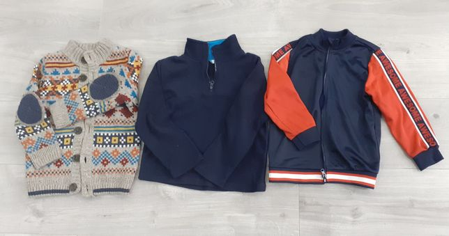 Zestaw sweter + polar + bluza 110